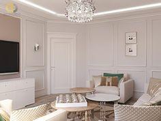 Дизайн интерьера гостиной в двухкомнатной квартире 81 кв.м в стиле неоклассика с элементами ар-деко13 Projects, Log Projects, Blue Prints