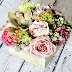 Mid-Range (like the photo) $100.00 Rustic and elegant element combine with charm in this wooden box of antique inspired blooms. foxgloves flowers victoria bc florist antique Image Shows, Vintage Images, Happy Mothers Day, Wooden Boxes, Succulents, Floral Wreath, Bloom, Wreaths, Rustic