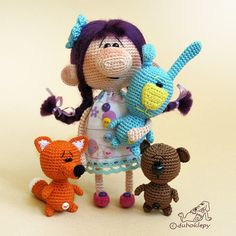 Amigurumi Lale Yapimi : 1000+ images about szydeLkowe lale on Pinterest ...