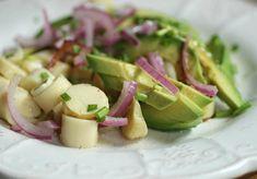 TODAS LAS RECETAS : Ensalada de palta, palmitos y mango.