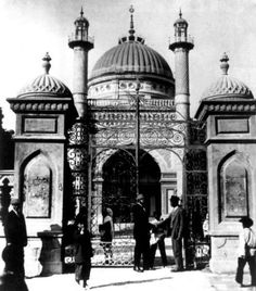 Rare photo of the first Baha'i House of Worship in Ashkhabad , Turkestan.  Confiscated by the communist government, then years later destroyed in an earthquake in the 1960's.