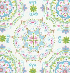 SALE Dena Designs Fishbein Blue White Dream Right fabric 1 Yard More Available. $6.49, via Etsy.