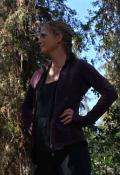 Kimberly Winchester found running to be a great stress reliever. And the woods were beautiful.