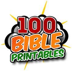 Bible Printables for Home School, Sunday School, & Children's Church — Teach Sunday School