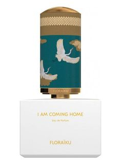 Floraiku I Am Coming Home is a refreshing white tea and ginger perfume.