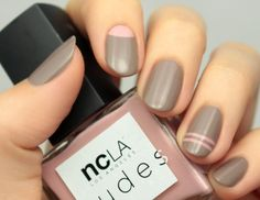 Lovely Nail Designs - NCLA Match Made in Cali Nail Tutorial 2016