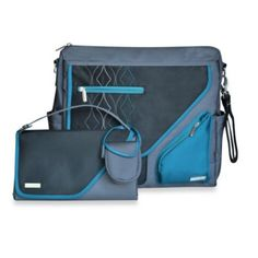 JJ Cole® Metra Bag in Blue Diamond - BedBathandBeyond.com