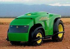 John Deere prototype tractor of the future driverless Yard Tractors, John Deere Tractors, John Deere Equipment, Heavy Equipment, Farming Technology, Mobile Robot, Modern Agriculture, Future Transportation, Farm Boys