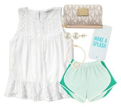 """""""Read the Description for Advice"""" by simply-elle ❤ liked on Polyvore featuring Abercrombie & Fitch, Kate Spade, PearLustre by Imperial and MICHAEL Michael Kors"""