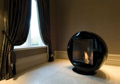 EcoSmart Fire Q fireplace featured in the Mansion House, UK