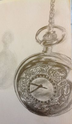 Alice In Wonderland inspired, pocket watch