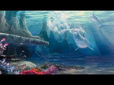 Painting The Sea Floor Mural Joe Youtube Art
