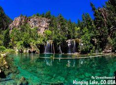 Hanging Lake, CO USA