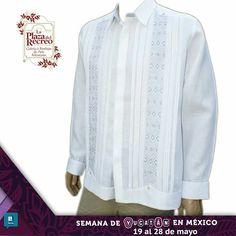 """Hermosas #Guayaberas con la mejor calidad del mercado, esto y más lo encontraras en  """" La Semana de Yucatán en México"""" del 19 al 28 de mayo. Diseños exclusivos, una edición limitada y 100% LINO. ¡No te lo pierdas!"""