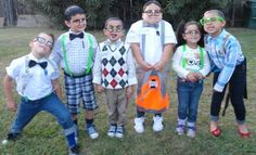 Kid group Halloween costume Ideas