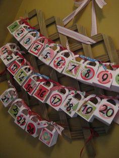 http://sharonscrapbook.blogspot.com.au/2010/11/christmas-advent-calendars.html