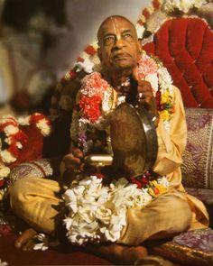 His Divine Grace Abhay Charanarvind Bhaktivedanta Swami Srila Prabhupada.