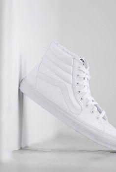 VANS Pure White Sk8hi