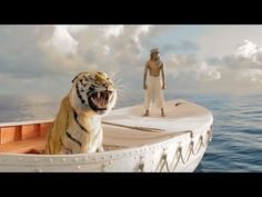 LIFE OF PI-Trailer--A young man who survives a disaster at sea is hurtled into an epic journey of adventure and discovery. While cast away, he forms an unexpected connection with another survivor: a fearsome Bengal tiger.