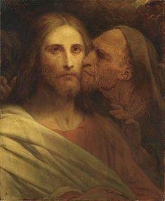 Ary Scheffer, Judas Kiss