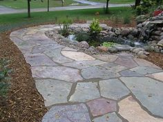 gradual rustic steps and gardens hardscapes pinterest
