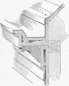 Wood Gutters Milled From Douglar Fir Roof Amp Gutters