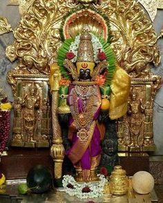 Mahalakshmi Devi, Kolhapur Durga Maa, Shiva Shakti, Lord Vishnu, Lord Ganesha, Kali Goddess, Shree Ganesh, Hindu Deities, God Pictures, Hare Krishna