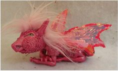 Dagmar OOAK Pink Fairy Dragon Fairies Art Doll by britpoprose99, $40.00