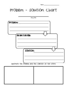 photograph about Problem Solution Graphic Organizer Printable identified as 116 Least complicated Issue and Strategy illustrations or photos within 2018 Issue