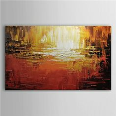 Oil Paintings - Abstract Paintings - Hand Painted Oil Painting Abstract 1305-AB0581