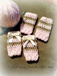 Knitting Patterns Leg Warmers Life Away From The Office Chair: Crochet Pet Leg Warmers Crochet Dog Clothes, Crochet Dog Sweater, Pet Clothes, Dog Clothing, Crochet Leg Warmers, Baby Leg Warmers, Dog Socks, Baby Socks, Dog Booties