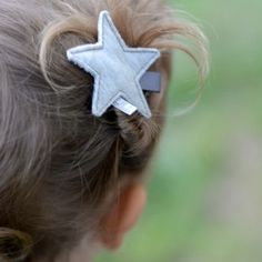 http://www.kidsfinest.nl/accessories/kollale-sterren-speldje-grijs-1-stuk/ #kidsfinest #kollale #speldje #star #ster #haar #haaraccessoires #handmade