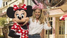 Christie Brinkley visits Walt Disney World! #DisneyWorld #travel