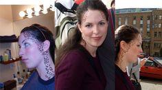 (Halloween) Trill makeup (Think: Ezri Dax, Film Star Trek, Star Trek Movies, Star Trek Cosplay, Male Cosplay, Fx Makeup, Cosplay Makeup, Eyebrows, Eyeliner, Star Trek Convention