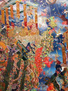Raqib Shaw inspiration Raqib Shaw, Visionary Art, Andy Warhol, Illuminated Manuscript, Banksy, Figurative Art, Digital Photography, Painting & Drawing, Asia