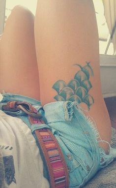Las Piernas son lienzos perfectos para los tatuajes, imposible resistirse ⋮ Es la moda