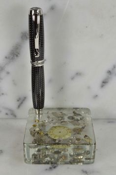 Acrylic Pen Stand/Display by WritePensInk on Etsy, $44.99 Custom Pens, Fountain Pen Ink, Desk Set, Display, Unique Jewelry, Handmade Gifts, Madness, Etsy, Vintage