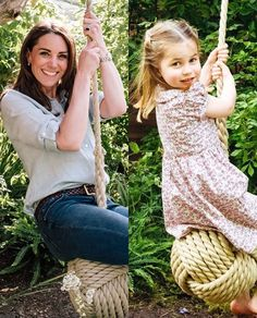 Like mommy like daughter Kate Middleton duchess of Cambridge and princess Charlotte Prince William Family, Prince William And Catherine, William Kate, Princess Katherine, Royal Princess, Prince And Princess, Lady Diana, Princesa Charlotte, Princesa Diana