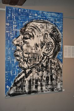 Conrad Botha's artwork. Oil on canvas. Art exhibition - 2012