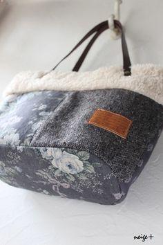 YUWAシックなグレイッシュローズのふわふわファートート♪ : neige+ 手作りのある暮らし