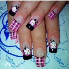 Efc Long Nail Art, Long Nails, Acrylic Nail Designs, Nail Art Designs, Kandi, Christmas Nails, Amelia, Pretty, Nailart