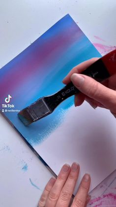 Cute Canvas Paintings, Canvas Painting Tutorials, Small Canvas Art, Mini Canvas Art, Diy Painting, Acrylic Art Paintings, Painting Techniques Canvas, Amazing Paintings, Painting Videos