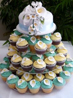 Amazing cup cake tower