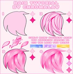 Thought Id share out my lil tutorial using the basic brushes and blends in CSP for quickly colouring hair! Only make super thin strands and hundreds of them if you dont mind spending the next 20 years colouring them! Digital Painting Tutorials, Digital Art Tutorial, Art Tutorials, Concept Art Tutorial, Drawing Reference Poses, Drawing Tips, Tie Dye Tutorial, Eye Tutorial, Drawing Hair Tutorial