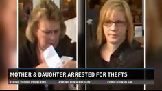 Private Officer Breaking News: Michigan mother and daughter charged with baby formula thefts  SUE SURIAN, 55, and her 29-year-old daughter LISA are scheduled to be arraigned on felony charges of first-degree retail fraud and organized retail crime. Both were convicted in Montcalm County of shoplifting from a Walmart store and sentenced to six months' probation. Norton Shores police released surveillance photos of two women suspected of stealing more than $1,000 worth of baby formula.