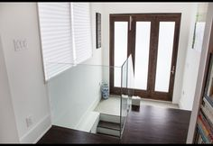 entry with folding doors