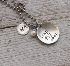 love the necklace.. love the message