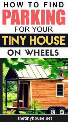 When I started building my tiny house on wheels, I had no idea where I would park it. I followed my instincts, which where that if I built it, the land would appear. Building A Tiny House, Tiny House Plans, House Floor Plans, Tiny House Family, Tiny House Living, Rv Living, Small Houses On Wheels, Tiny Houses For Sale, Tiny House Community