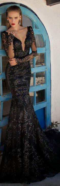 MoonStruck ~ Evening Dress By Galia Lahav www.ATHRALUXE.com #AthraLuxe #jewelry