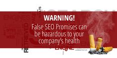 """There are a lot of deceitful SEO agencies out there that try manipulate companies into thinking their strategies are completely """"white hat"""", meaning the"""